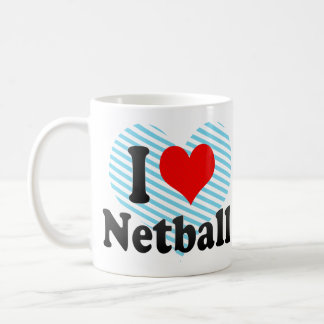 I love Netball Coffee Mug