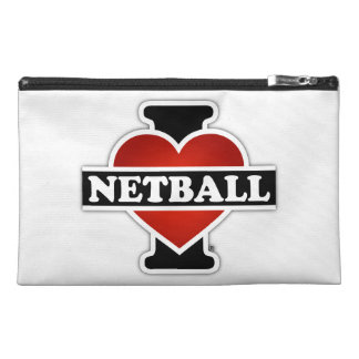 I Love Netball Travel Accessories Bags
