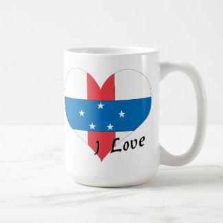 I love Netherlands Antilles Coffee Mug