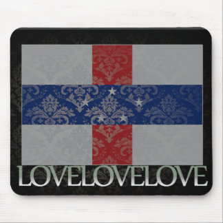 I love Netherlands Antilles Cool Mouse Pad