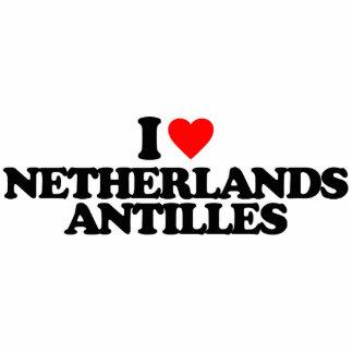 I LOVE NETHERLANDS ANTILLES PHOTO CUTOUT