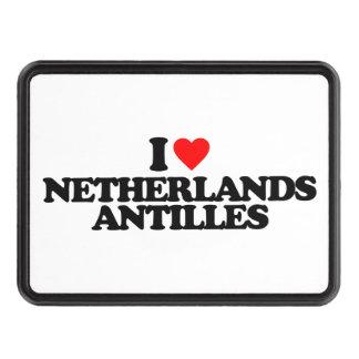 I LOVE NETHERLANDS ANTILLES HITCH COVER