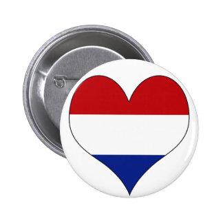 I Love Netherlands Button