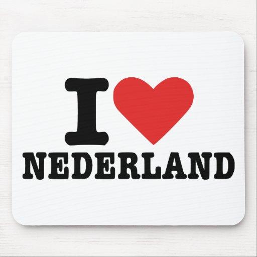 I love netherlands mouse pad