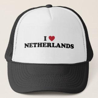 I Love Netherlands Trucker Hat
