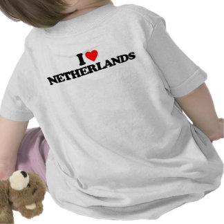 I LOVE NETHERLANDS TEE SHIRTS