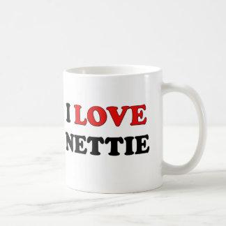 I Love Nettie Mug