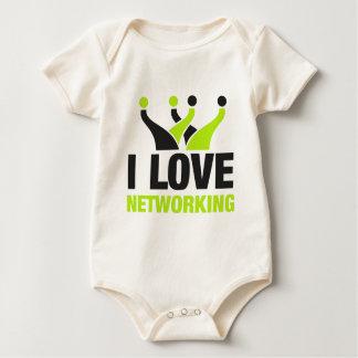 I Love Networking Baby Bodysuit
