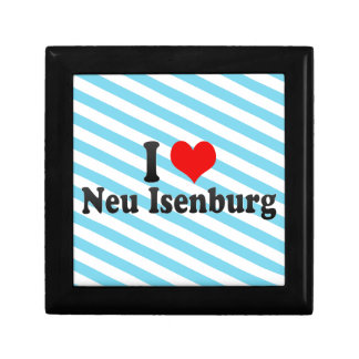 I Love Neu Isenburg, Germany Trinket Box