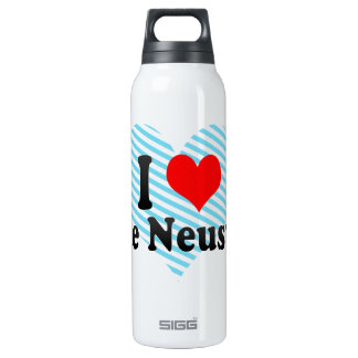 I Love Neue Neustadt, Germany 16 Oz Insulated SIGG Thermos Water Bottle