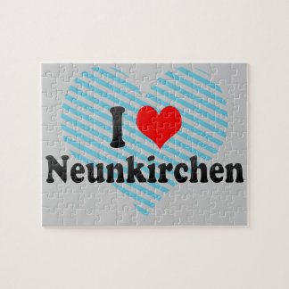 I Love Neunkirchen, Germany Puzzle