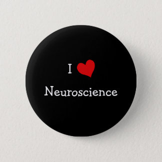I Love Neuroscience Pinback Button