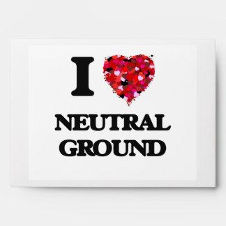 I Love Neutral Ground Envelope