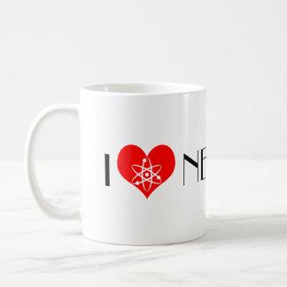 I Love Neutrons Coffee Mug
