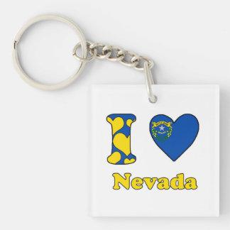 I love Nevada Keychain