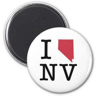 I Love Nevada Magnets