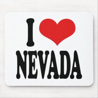 I Love Nevada Mouse Pad
