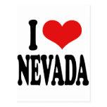 I Love Nevada Post Card