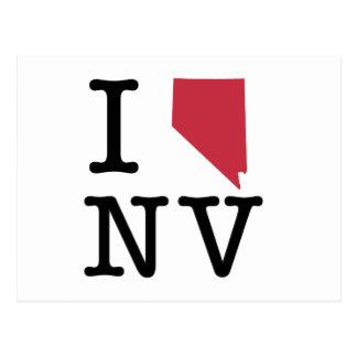 I Love Nevada Postcard