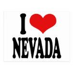 I Love Nevada Postcards