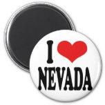 I Love Nevada Refrigerator Magnet