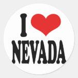 I Love Nevada Sticker
