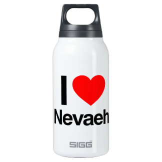 i love nevaeh 10 oz insulated SIGG thermos water bottle