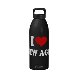 I Love New Age Reusable Water Bottles