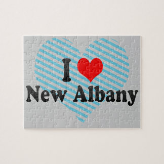 I Love New Albany, United States Jigsaw Puzzle