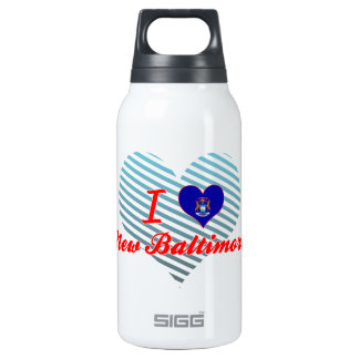 I Love New Baltimore, Michigan 10 Oz Insulated SIGG Thermos Water Bottle