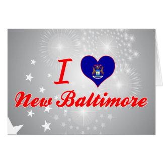 I Love New Baltimore, Michigan Greeting Card