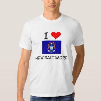 I Love New Baltimore Michigan Tee Shirt