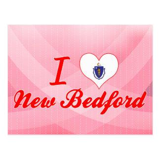 I Love New Bedford, Massachusetts Postcard
