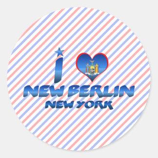 I love New Berlin, New York Sticker