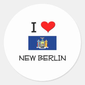 I Love New Berlin New York Stickers