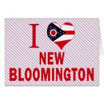 I love New Bloomington, Ohio Greeting Cards