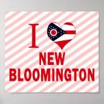 I love New Bloomington, Ohio Posters
