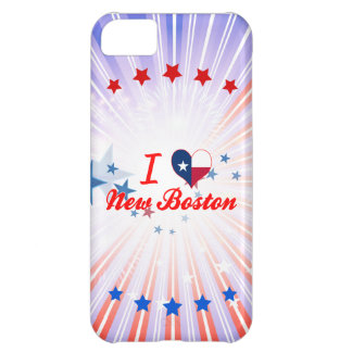 I Love New Boston, Texas Cover For iPhone 5C