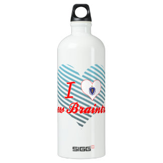 I Love New Braintree, Massachusetts SIGG Traveler 1.0L Water Bottle