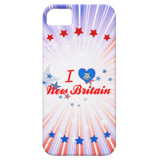 I Love New Britain, Connecticut iPhone 5/5S Cover