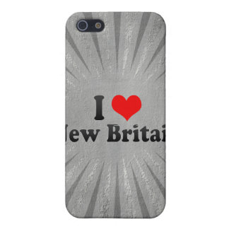 I Love New Britain, United States Cover For iPhone 5