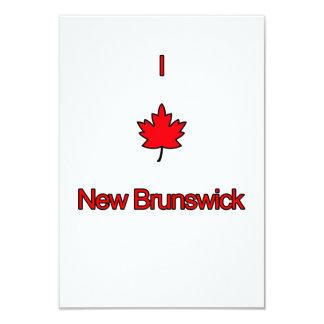 I Love New Brunswick Card