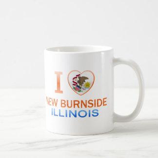 I Love New Burnside, IL Coffee Mug