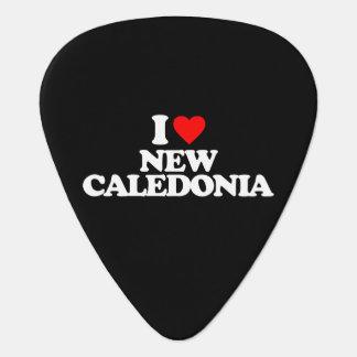 I LOVE NEW CALEDONIA GUITAR PICK