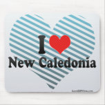 I Love New Caledonia Mouse Pad