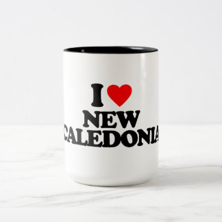 I LOVE NEW CALEDONIA MUG