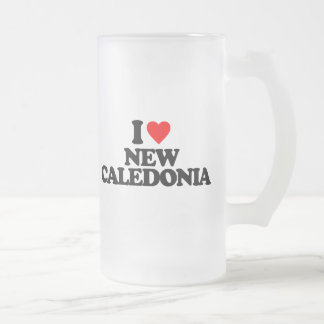 I LOVE NEW CALEDONIA BEER MUGS