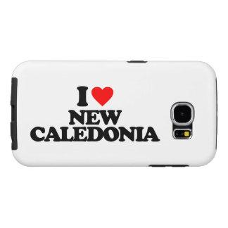 I LOVE NEW CALEDONIA SAMSUNG GALAXY S6 CASE
