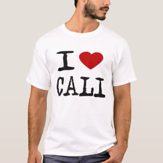 i love new cali -- T-Shirts