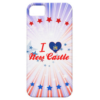 I Love New Castle, New York iPhone 5 Cases